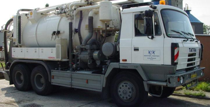 Čištění kanalizace a kanalizační přípojky